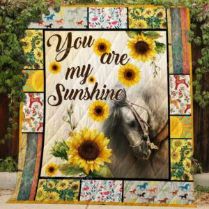 You Are My Sunshine Sherpa Fleece Blanket